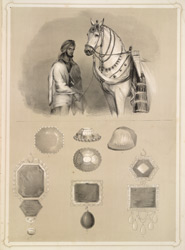 Horses and jewels of Runjeet Singh